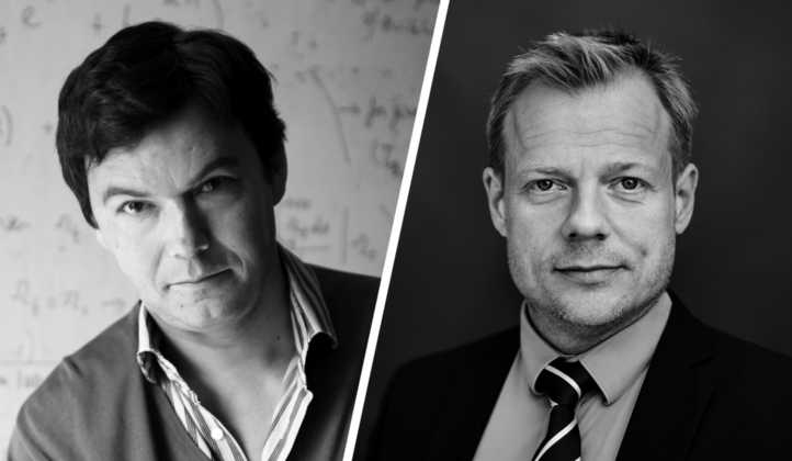 Thomas Piketty and Rune Lykkeberg