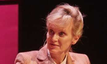 Siri Hustvedt in The Queens Hall at a previous occasion. Photo: Royal Danish Library