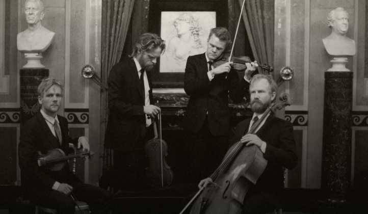 The Danish String Quartet (photo) and Ensemble MidtVest perform Mendelssohn and Gade.