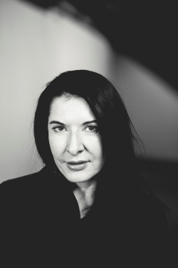 Marina Abramović foto Nils Müller and Wertical