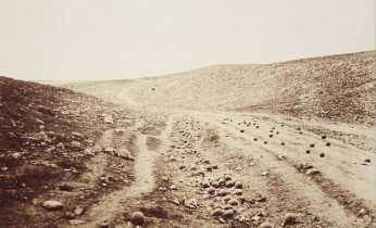 Roger Fenton: The Valley of the Shadow ot Death (1856)