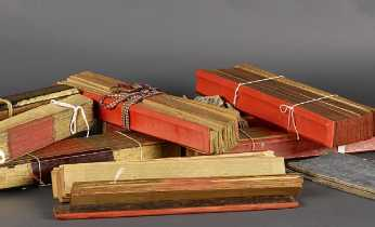 Palm leaf manuscripts from Burma