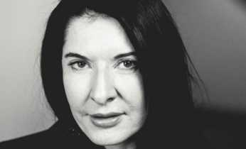 Marina Abramović on the International Authors' Stage
