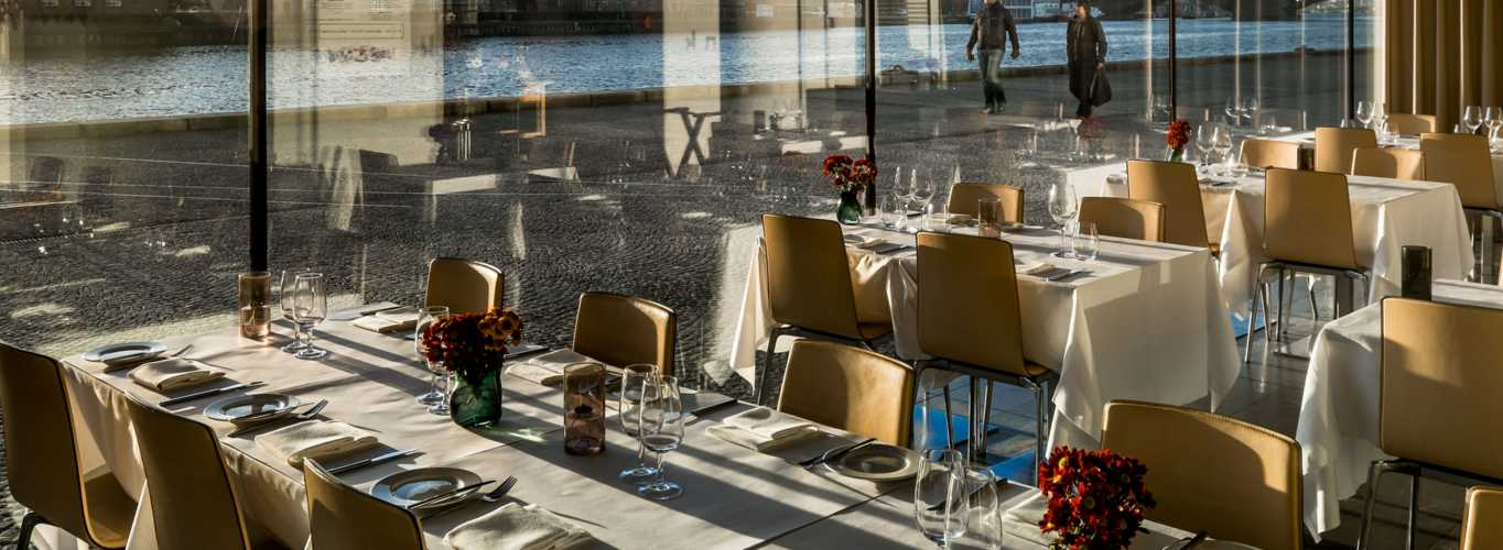 Enjoy a lunch or dinner in the Diamond restaurant Søren k