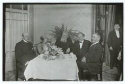 Fotfatterkolleger i selskab med Frederik Borgbjerg