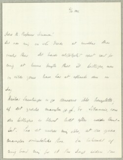 Letter from                         Adler, Ada                         to                         Simonsen, David