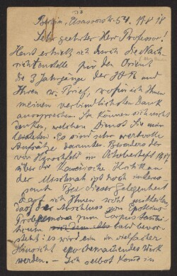 Letter from                         Appenstein, -                         to                         Simonsen, David