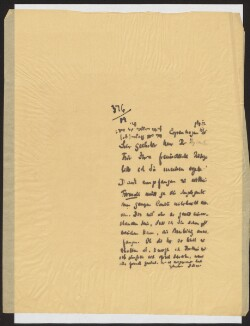 Letter to                         Aptowitzer, Victor                         from                         Simonsen, David