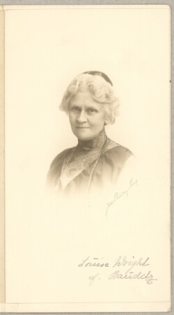 Louise Wright f. Bauditz