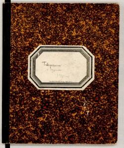 Telegrammer og ..... 1914-[1918] Telegrambog A
