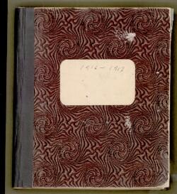 1916-1917 [Letters and Telegrams] 1916-1917 Telegrambog C