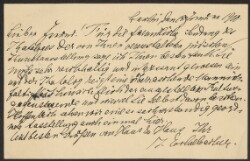 Letter from                         Eschelbacher, Joseph                         to                         Simonsen, David