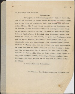 Letter to                         Estland, Legation                         from                         Simonsen, David