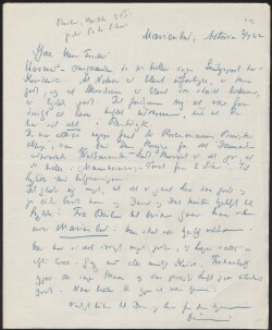 Letter to                         Fischer, Josef                         from                         Simonsen, David