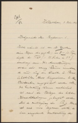 Letter from                         Freimann, Jacob                         to                         Simonsen, David