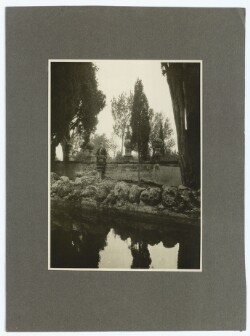 Edith Rode. Villa Falconieris  Have i Frascati. Okt. 1926