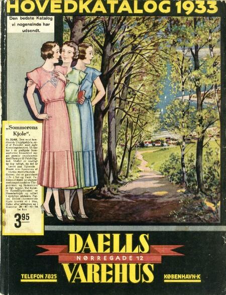 Billede dv1933_h_001.jpg til Hovedkatalog 1933 : Den bedste Katalog vi nogensinde har udsendt
